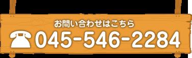お問い合わせはこちら TEL: 045-546-2284